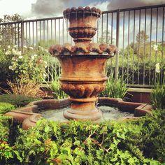 Relaxing Backyard Fountain