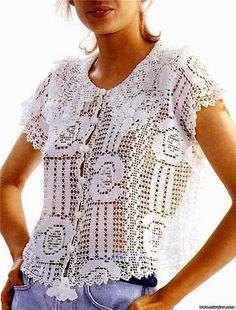 Fabulous Crochet a Little Black Crochet Dress Ideas. Georgeous Crochet a Little Black Crochet Dress Ideas. Filet Crochet, Crochet Art, Crochet Woman, Tunisian Crochet, Irish Crochet, Crochet Patterns, Vintage Crochet, Crochet Jacket, Crochet Cardigan