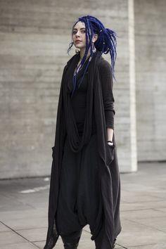 blue hair, love