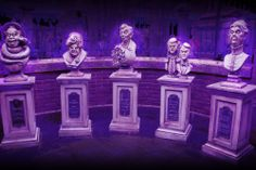 """This photo was taken near the entrance of the Haunted Mansion in the Magic Kingdom at Walt Disney World. Let us know if you """"Like"""". #disneyside"""