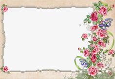 Floral border design, Graphic Design, Flowers, Frame PNG Image and Clipart