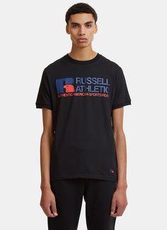 Russell Athletic Retro Logo Print T-Shirt | LN-CC