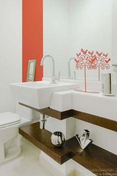 Apartamentos pequenos: 320 projetos de profissionais de CasaPRO - Casa #banheiro #decoração #decor #bathroom