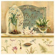 hill'in dünyası: Ahşap Boyama Dekupaj Resimleri (çiçek desenli)