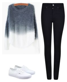"""""""Untitled #538"""" by oliviamagic on Polyvore featuring Giorgio Armani, Vans, women's clothing, women's fashion, women, female, woman, misses and juniors"""