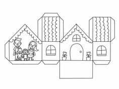 Diagram, House, Home, Homes, Houses