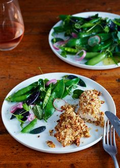 Recipe: Almond-Crusted Chicken Tenders with Honey Mustard — Recipes from The Kitchn