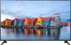 """LG - 55"""" Class - (54.6"""" Diag.) - LED - 1080p - Smart - HDTV - Black"""