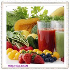 Miss Saúde : Dieta Detox: a dieta da desintoxicação