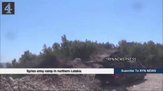 Syrian army camp in northern Latakia