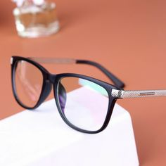 korean 2014 new plain glasses eyeglasses frame optical glasses new design fashion computer glasses oculos de grau US $6.19