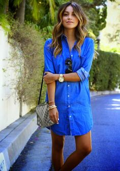 Soooo comfy looking! I would love to wear this everyday! #denimshirtsaremydownfall #wahm
