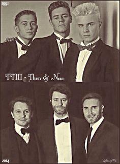 1991→2014 Music Stuff, My Music, Take That Band, Howard Donald, Jason Orange, Mark Owen, Gary Barlow, Robbie Williams, Cool Haircuts
