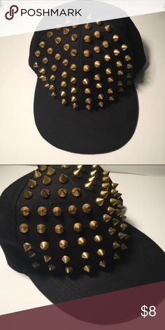 Studded snap back Brand new!! Not worn. Wet Seal Accessories Hats