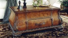 Heritage Bombe Trunk Table by Butler