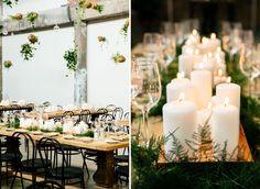 Modern Minimal Canada Wedding, love this idea !
