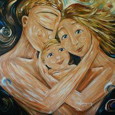 Algunas de las pinturas deKatie M Berggren, bellas e inspiradoras                     más enhttp://kmberggren.com/