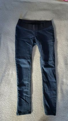 60e5058854dac Mothercare Blooming Marvellous Maternity Under bump Navy Skinny Jeans -Sz 10  Reg #fashion #