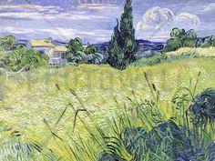 van Gogh, Vincent - Field - Fotobehang & Behang - Photowall