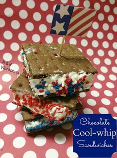 Chocolate Cool-whip Sandwiches