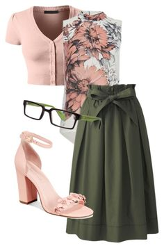 """90"" by michellelrickey on Polyvore featuring LE3NO, Uniqlo, Avec Les Filles and Scojo"