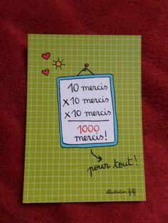 Carte 1000 mercis