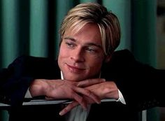 Pretty sure if death looked that good we'd all been gone long ago! Brad Pitt in 'Meet Joe Black'