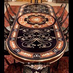 3 Magical Cool Tips: Outdoor Dining Furniture Fireplaces rustic dining furniture restoration hardware. Outdoor Dining Furniture, Furniture Chairs, Furniture Ideas, Furniture Design, Fancy Living Rooms, Walnut Burl, Dark Walnut, Design Light, Luxury Dining Room