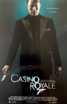 Mads Mikkelsen in promotional art for casino royale