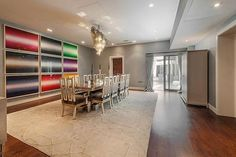 Billionaire Heiress Tamara Ecclestone Is Selling Her London Pad For $32 Million - The dining room is approximately 33 feet long, with double doors opening into the cinema    Read more: http://www.businessinsider.com/tamara-ecclestone-selling-london-home-2013-1?op=1#ixzz2GzzIdOCd
