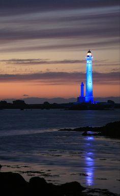 Light house in blue