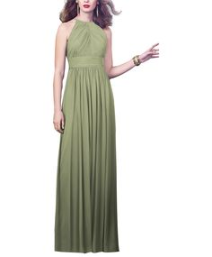 Take a look at this gorgeous Dessy Style 2918 bridesmaid dress in sage green fabric! Available in sizes 00-30 and tons of colors at Brideside. Shop online, try at home or visit one of our showrooms!
