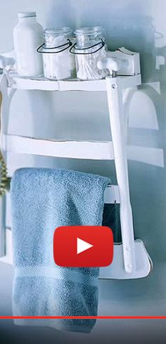 Un dos de chaise en porte-serviette et autres transformations. http://rienquedugratuit.ca/videos/un-dos-de-chaise-en-porte-serviette-et-autres-transformations/