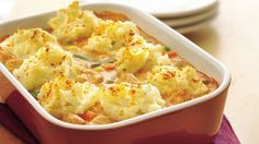 Take a homey spin on chicken breasts using mashed potatoes and veggies in a one-dish meal. The post Chicken Paprika Shepherds Pie appeared first on Tasty Recipes. One Dish Meals Tasty Recipes Chicken Shepherd's Pie, Baked Chicken, Chicken Recipes, Chicken Gravy, Chicken Satay, Teriyaki Chicken, Rotisserie Chicken, Pie Recipes, Dinner Recipes