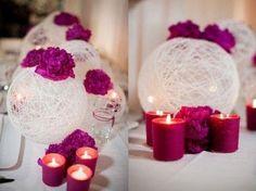 Kolorowe Inspiracje Ślubne: Fuksja