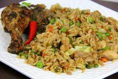 Jerk Chicken Fried Rice.