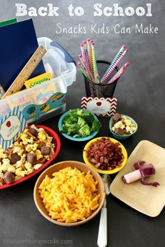 Back to School Snacks for Kids