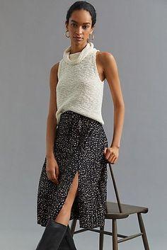 Pleated Tulle Maxi Skirt | Anthropologie