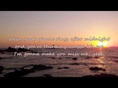 Sam Hunt - Make You Miss Me (with lyrics) - YouTube
