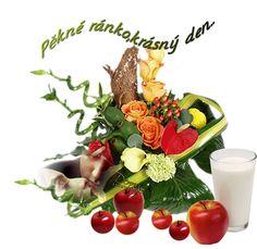 Ráno « Rubrika   OBRÁZKY PRO VÁS Beautiful Roses, Table Decorations, Plants, Plant, Dinner Table Decorations, Planets