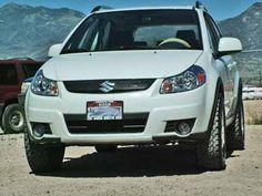 SX4 Lift Kit: Suzuki SX4 Lift kit