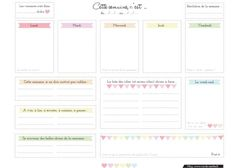 7 semainiers pour vous aider à vous organiser ! Simplement Organisée Journal Organization, Good Notes, Planner Stickers, Bujo, Budgeting, How To Plan, 3, Monthly Budget, Planners