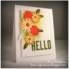 CTMH Flower Market Cricut cartridge with Thinking of You Workshop Your Way (WYW)