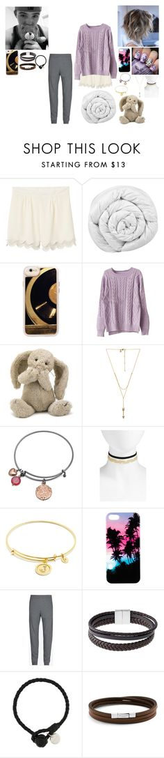 """Ryland Lynch and Jamie Davis nightwear"" by alexishambleton on Polyvore featuring Monki, Brinkhaus, Casetify, Chicnova Fashion, Jellycat, Rebecca Minkoff, BillyTheTree, BP., Chrysalis et Maison Margiela"