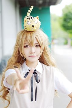 lee myoyoung(donum) Taiga Aisaka Cosplay Photo - WorldCosplay Super Hero shirts, Gadgets & Accessories,