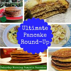Ultimate pancake round-up, all kinds of delicious pancake recipes, gluten-free, Paleo, protein