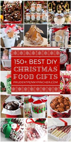 150 Best Food DIY Christmas Gifts is part of Christmas food gifts - These food DIY Christmas gifts are perfect for any food lover in your life! There are ideas for snacks, spreads, baked goods, mixes, candies and Christmas Food Ideas For Dinner, Christmas Sweets, Christmas Goodies, Christmas Fun, Christmas Cactus, Diy Gift Ideas For Christmas, Diy Christmas Baskets, Christmas Island, Christmas Cooking