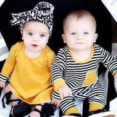 0632a8463c7e 23 Best Boy Girl Twin Outfits images | Twin newborn, Baby twins ...