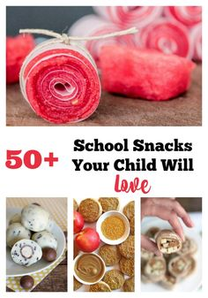 Here are 50+ ideas of Back to School Snack ideas that your child will love for…