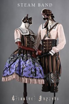 --> #LolitaUpdate: Classical Puppets [-♬✦♪-Steam Band & Steam World-☸-] Series --> Learn More: http://www.my-lolita-dress.com/newly-added-lolita-items-this-week/classical-puppets-steam-band-steam-world-series
